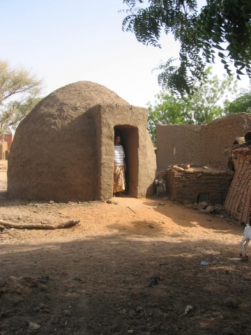 Domed round house - a popular building!
