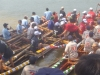 DW Crowds at boat races hear Typhoon prevention message